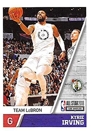 560030c333c4b Amazon.com: 2018-19 Panini NBA Stickers Basketball #420 Kyrie Irving ...