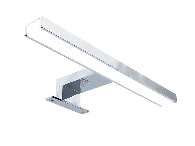 Starbath silvia cm luce a led applique faretto specchio