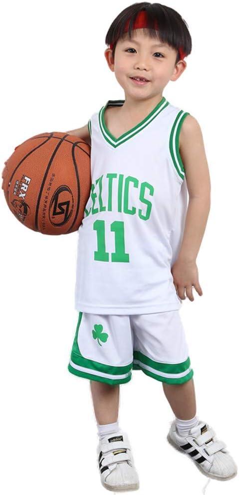 KSWX Camiseta de Baloncesto Niño Celtics # 11 Ropa De Entrenamiento De Baloncesto para Hombres Y Mujeres Kaili-Owen De Secado Rápido Transpirable: Amazon.es: Deportes y aire libre