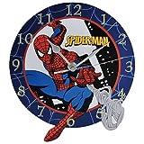 10.5 Inch Spider-Man Collectible Cartoon Superhero Wall Clock Decor