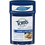 Tom`s Of Maine Long Lasting Stick Mountain Spring Scent (6x2.25 OZ) ( Value Bulk Multi-pack)