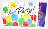 Pack Of 8 ~ Balloons Galore ~ Theme - Party Inviations w/ Envelopes