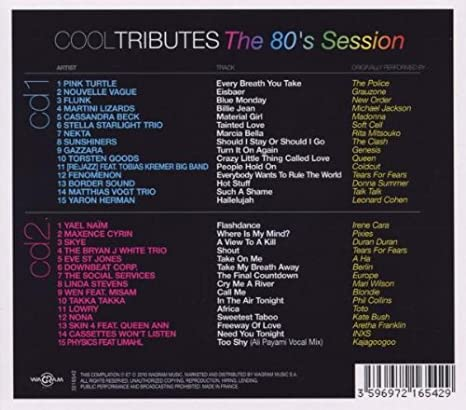 Cool Tributes The 80s Session (2CD): Amazon co uk: Music