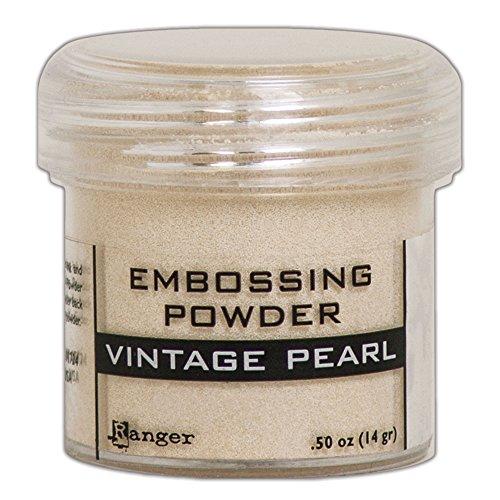 Pearls Ranger Embossing (Ranger Vintage Pearl Embossing Powder)