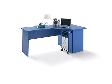 Scrivania Ad Angolo Per Cameretta : Scrivania ad angolo per cameretta o ufficio cm l180 vari colori dx