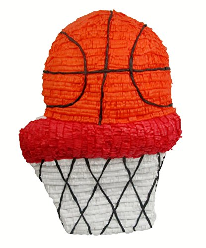 Pinatas March Madness Basketball Pinata, Party Game, Decoration and Photo Prop