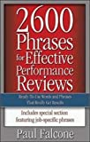 img - for 2600 Phrases for Effective Performance Reviews: Ready-to-Use Words and Phrases That Really Get Results book / textbook / text book