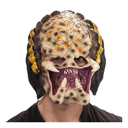Ovedcray Costume series Predator 3/4 Vinyl Adult Mask Brown
