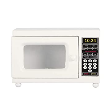 Amazon.es: Mootea Horno de microondas Dollhouse, 1/12 ...
