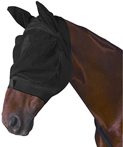 Weatherbeeta Roma Stretch Eye Saver with Ears Purple/Black Full