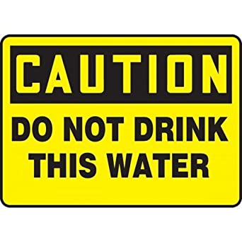 Image result for a caution sign n a drink