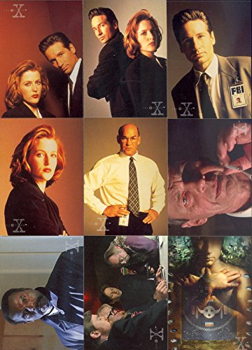 X-FILES SEASON 3 1996 TOPPS COMPLETE BASE CARD SET for sale  Delivered anywhere in USA