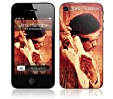 Zing Revolution MS-JIMI80133 Jimi Hendrix-Woodstock Cell Phone Cover Skin for iPhone 4/4S