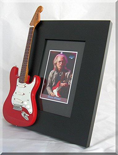 Steve Howe sí guitarra en miniatura marco de fotos: Amazon.es ...