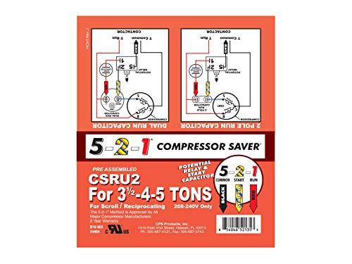 - 5-2-1 CSRU2 Compressor Saver Hard Start Kit --P#EWT43 65234R3FA428464