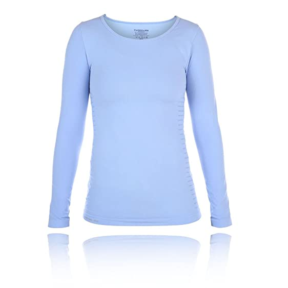 Pure Lime Seamless Long Sleeve Women's Running Top - AW17 - XX Small/X Small