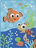 Disney Baby Finding Nemo French Fiber Plush Blanket