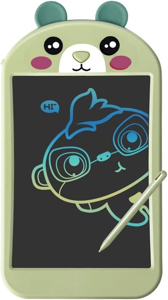 実用的な液晶ライティングボード 3つのLCDタブレット児童画会学習ツールグラフィティボード光エネルギーライティングボード 便利で軽量 (色 : 緑, Size : 8.5 inches)