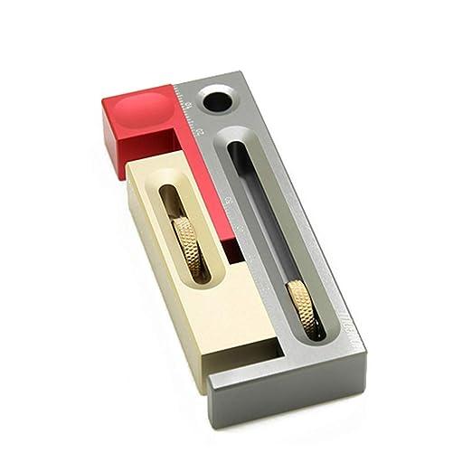 Ajustador de ranuras para sierra de mesa, herramienta de mortaja y ...