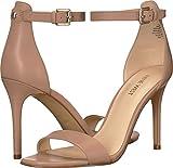 Nine West Women's MANA Sandal, Light Natural Leather, 6.5 M US
