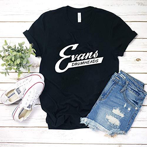 Evans Vintage Drum Heads T-Shirt Hoodie for men -
