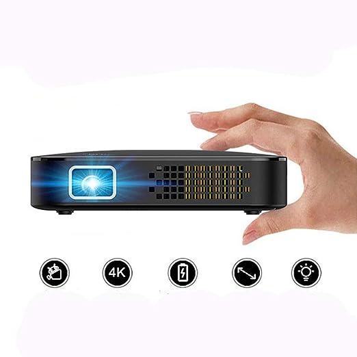 Link Co Mini proyectores portátiles Batería integrada Botón de ...