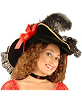 Charades Women's Lacey Ladies Costume Hat