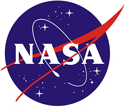 "RT792 NASA Space Program Department Full Color Vinyl Decal | Use on Yeti Cup Cooler Truck Jeep Window Boat Toolbox Tackle box Laptop Mirror | 5""x4.25"""