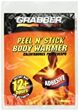 Grabber Warmers Grabber 12+ Hours Peel N' Stick Body Warmer, New Mega Pack 80-Count