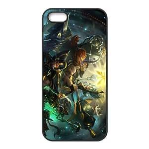 iPhone 5 5s Cell Phone Case Black League of Legends Fnatic Corki OIW0430906
