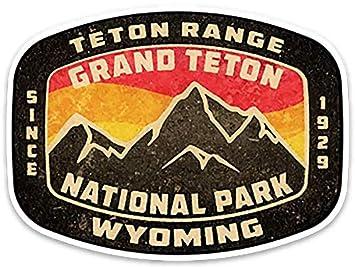 Wyoming USA State Vintage Emblem Car Bumper Sticker Decal /'/'SIZES/'/'