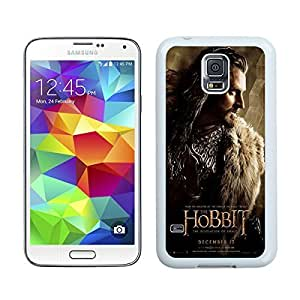 Special Custom Samsung Galaxy S5 Case The Hobbit The Desolation of Smaug Thorin Oakenshield White Personalized Picture Samsung Galaxy S5 i9600 Phone Case