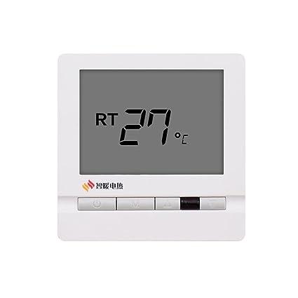 XQ Termóstato dedicado del regulador de la temperatura Termóstato inteligente del calentador del carbono del control