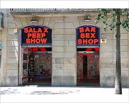 Impresión fotográfica de sexo tienda Maxstrength y muestra en La Rambla, Barcelona, España: Amazon.es: Hogar