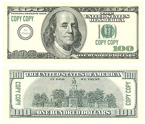 Top 10 best prop money 100 dollar bills 100k: Which is the best one in 2020?