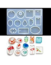 TR.OD Silicon Resin Casting Pendant Mold Jewelry Mould DIY Craft Making