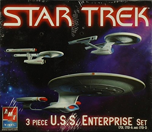 AMT ERTL 1: 2500Star Trek USS Enterprise 3点セット17011701-a / Dキット# 38387の商品画像