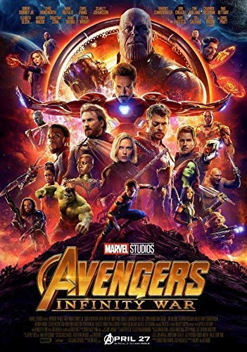 A0 A1 A2 A3 A4 Maxi Marvel Avengers End Game Movie Poster Art Print