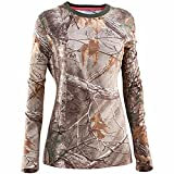 Under Armour Women's Charged Cotton Camo Long Sleeve X-Large REALTREE AP-XTRA