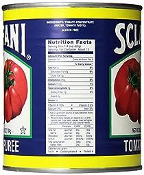 Sclafani Tomato Puree, 28 Ounce (Pack of 12)