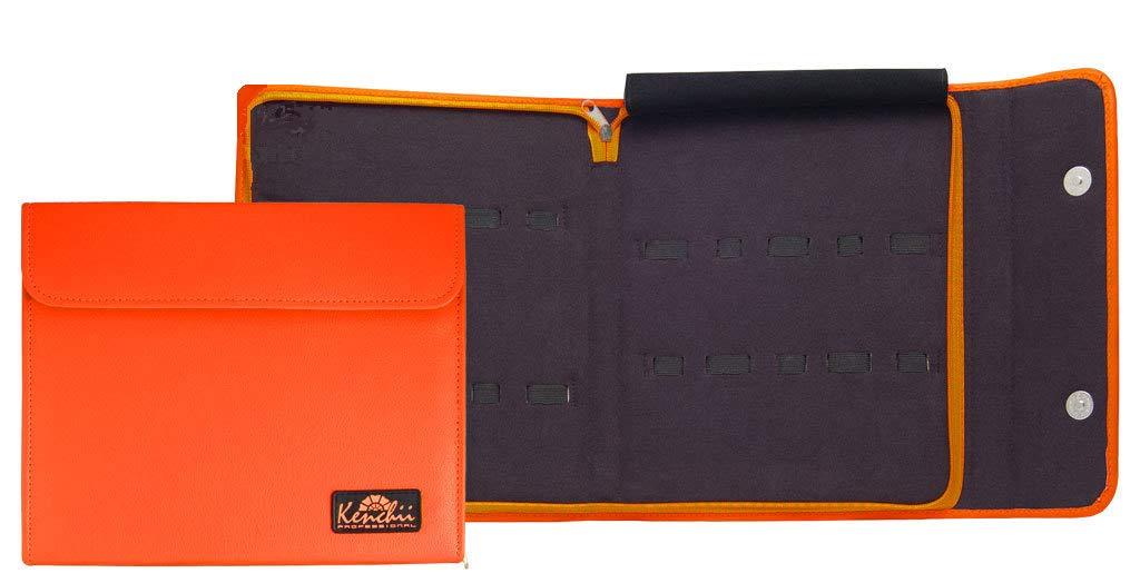 Kenchii Shear and Scissor Case Holds 10 Grooming or Beauty Shears KEL10 Orange