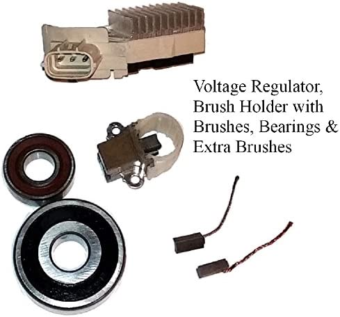 100/% NEW ALTERNATOR REGULATOR BRUSH HOLDER BRUSHES FOR TOYOTA HIGHLANDER V6 3.0L