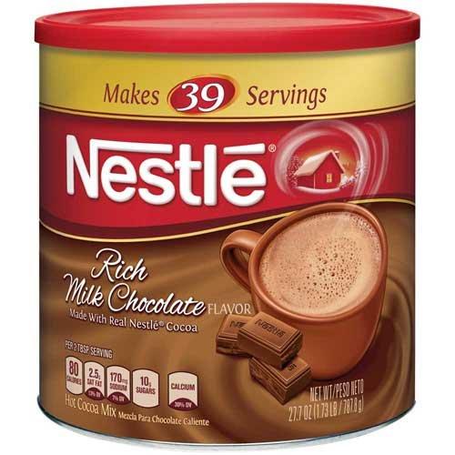 Nestle Rich Milk Chocolate Hot Cocoa Mix, 27.7 Ounce - 6 per case.
