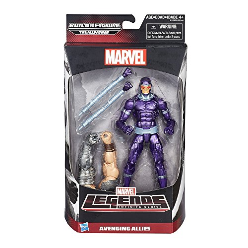 Marvel Legends Infinite Series Avenging Allies Machine Man 6 Inch Figure