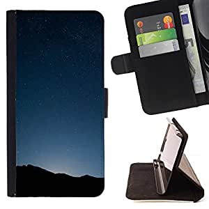 DEVIL CASE - FOR Samsung Galaxy S5 V SM-G900 - Space Planet Galaxy Stars 34 - Style PU Leather Case Wallet Flip Stand Flap Closure Cover