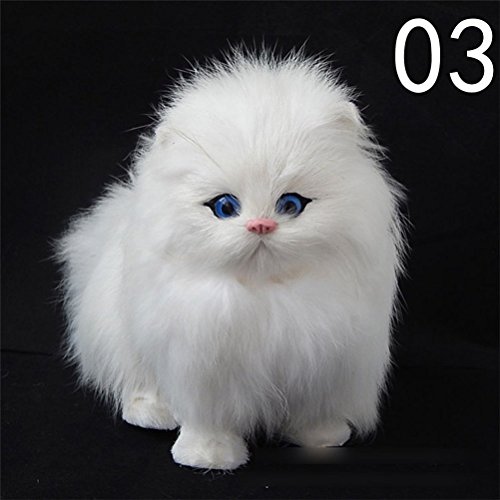 White Cat Soft Toy - 5
