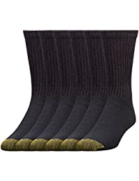 Men's 6-Pack Cotton Crew 656 Athletic Sock