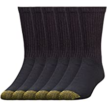 Gold Toe Men's 6-Pack Cotton Crew 656 Athletic Sock