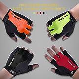RIVBOS Bike Gloves Cycling Gloves Fingerless for