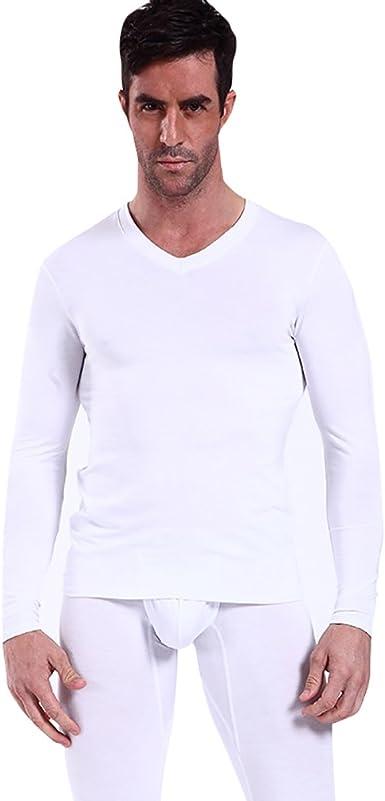 NiSeng Ropa Interior de compresión para Invierno Camiseta Termica ...